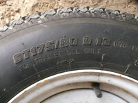 spare trailer tires ,tires hold air mainly selling for the rims
