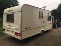 **AVONDALE ARGENTE 480-2 CARAVAN FOR SALE**