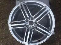 Audi 19'' alloy wheel