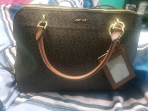 Calvin Klein purse and guess wallet