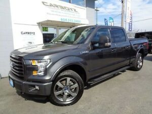 2016 Ford F-150 FX4 Crew 6.5 Box, Nav, Leather, Sport Package