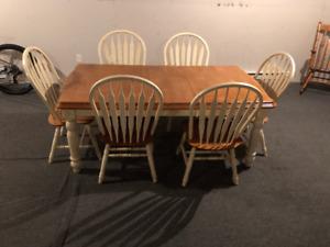Set de salle à manger en bois