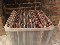 150 breaks/funk/electro vinyl records