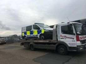 24/7 Breakdown recovery service in London and Essex