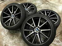 """18"""" VOSSEN VSF1 Staggered Wheels & Tires (BMW Cars)"""