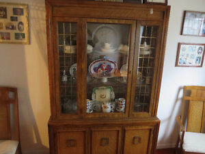 Dining Table & China Cabinet