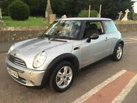 2005 05 MINI 1.6 16v ONE 3 DOOR HATCH 5 SPEED MANUAL BMW MINI Panoramic Sunroof
