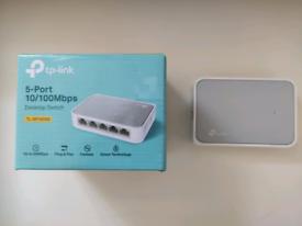 Ethernet Desktop switch 5-port tp-link