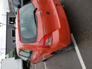 2007 Toyota Yaris for sale.