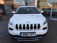 2016 Jeep Cherokee 2.2 Multijet 200 Limited Active Drive II 5dr Auto ** ACTIVE D