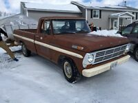 1969 Ford F-250, running and on the road.