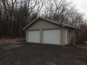 Detached Garage Storage Space Available