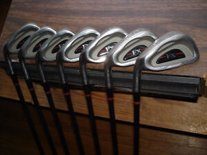 Excellent L/H oversized graphite shafted irons
