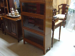 Antique bookcases, Walnut,double, Oak barrister London Ontario image 5