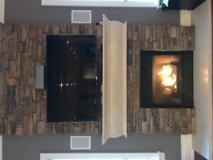 Gas Fireplace - Magestic