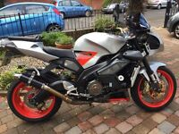2005 aprilia tuano fighter 1000cc mint low miles loads of extras £2999