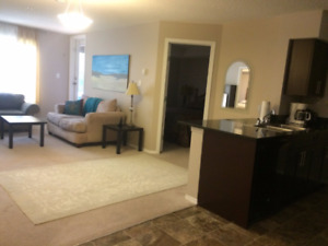 Edmonton Condo For Rent, Fully Furnished, EVERYTHING Included!