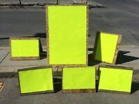 Rent Our Signs, Tables and/or Tents! Free Delivery!!!