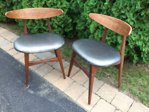Teak Chairs x3
