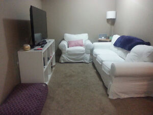 2 Bedroom Basement Suite with Separate Entrance