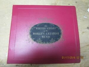 16LP set-The Webster Library of The Worlds Greatest Music 1977 London Ontario image 1