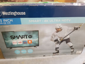 Westinghouse 43 inch 4k smart tv barely used