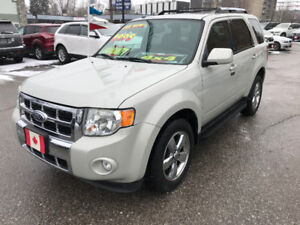2009 Ford Escape LIMITED 4WD 4X4 SUV..EXCELLENT COND.