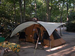 Tente : Eureka Tunnel Vision – Bâche et matelas de camping La Co