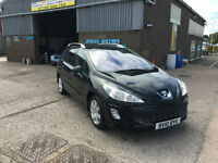 2010 Peugeot 308 SW 1.6HDi ( 110bhp ) FAP SE ESTATE,ONLY 70000 MILES WITH FULL