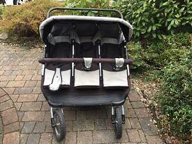 Triple buggy / stroller/ pushchair