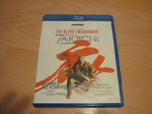 ZATOICHI The Blind Swordman BLU-RAY