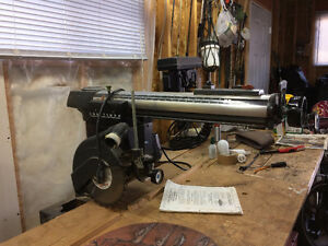 1974 Craftsman Radial arm saw with 9 foot table $200 firm