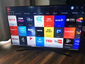 "43"" Samsung UE43J5500AK Full HD Smart TV Wi-Fi Black - LED TV Full HD"