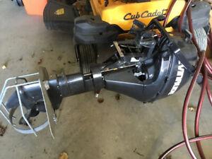 Evinrude outboard motor 9.8 hp long shaft