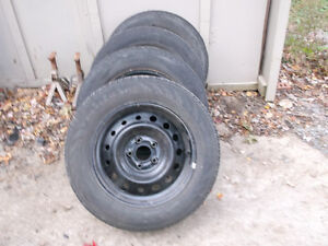 4 Wheels and Tires 215/60/16
