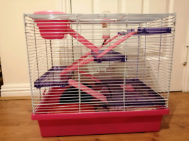 Hamster cage & accessories - need gone ASAP