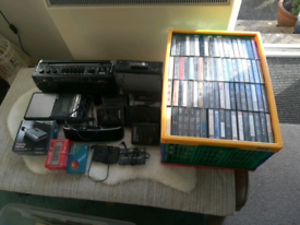 Vintage Audio tapes and equipment