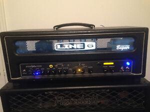 Tête d'ampli à lampes Line 6/Bogner Spider Valve HD100
