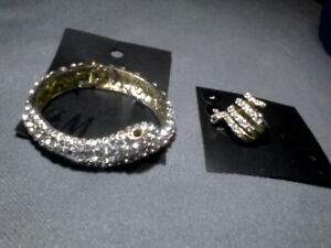 bracelet  and ring by H&M snake