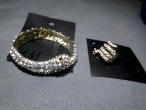 H&M snake bracelet  and ring