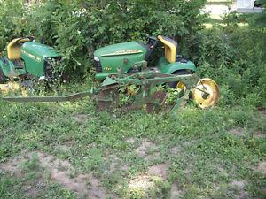 john deer 2 furrow plow