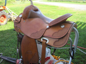 "17"" Billy Cook Western Saddle For Sale"