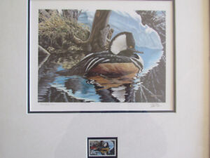 1/2 Price! Kenneth A. Ferris Signed and Numbered Print and Stamp