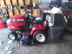 Craftsman DGT 6000 Garden Tractor  25 hp with Bagger & Trailer