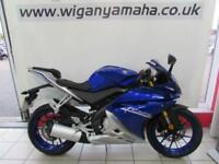 YAMAHA YZF-R125 ABS, 67 REG ONLY 207 MILES, 125cc LEARNER LEGAL SPORTS BIKE...