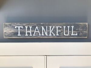 Rustic hand made sign