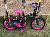 Tinkabell girls bike age 5-7