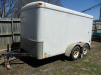 8X12 Enclosed Trailer