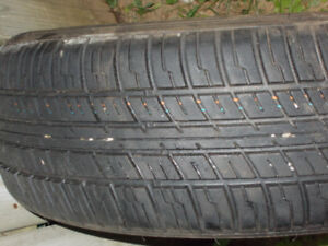 4 tires all  season / good  condition  for sale /p195/60r15