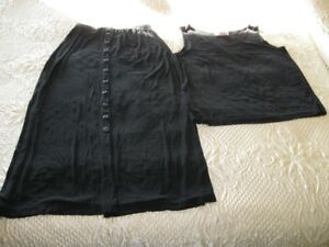 """Slinky Brand"" skirt and tank  like new! size med easy to pack!"